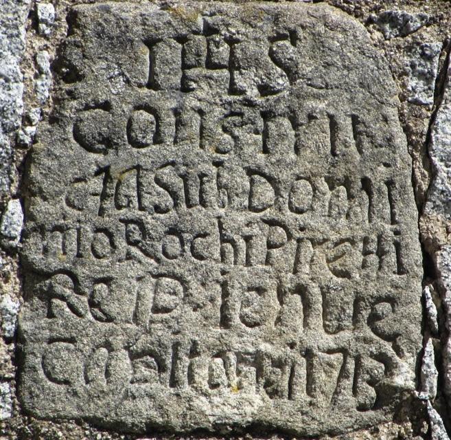 livia inscription 1713