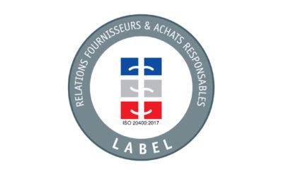 Label « Achats Responsables » : remise du rapport d'évaluation