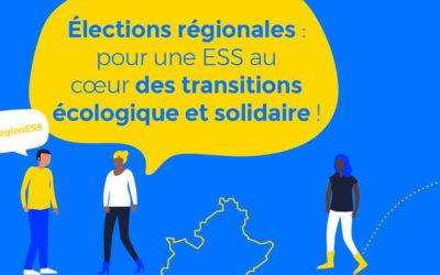 Élections territoriales 2021 : les acteurs de l'ESS se mobilisent !