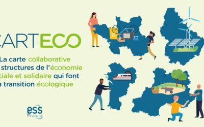 Lancement CARTECO, la carte collaborative des structures de l'ESS qui font la transition écologique